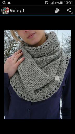 Crochet Pattern Cowl