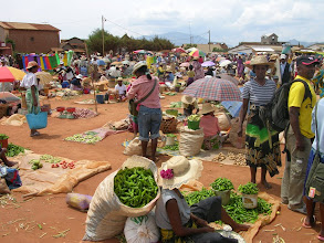 Photo: Market day for veges too