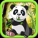 Ninja Panda jump adventure icon
