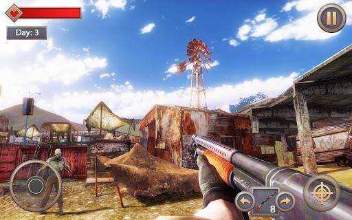 Code Triche Zombie Survival Last Day - 2 APK MOD screenshots 3