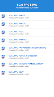 Download Soal PPG 2020 For PC Windows and Mac apk screenshot 1