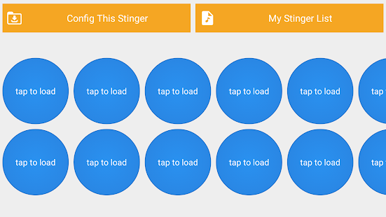 Audio Stinger - náhled
