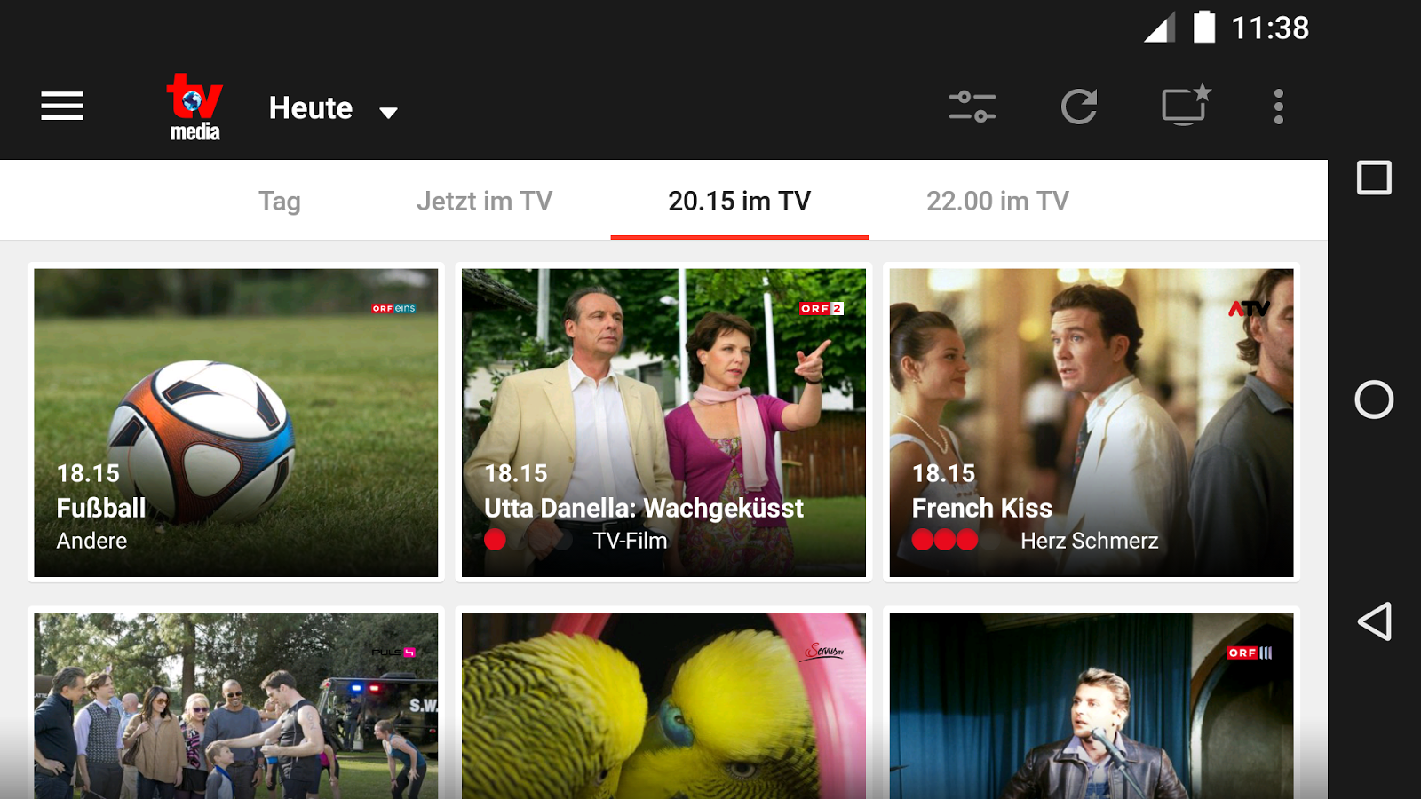TV-MEDIA TV Programm- screenshot