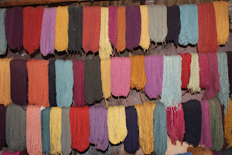 Photo: Dyed wool