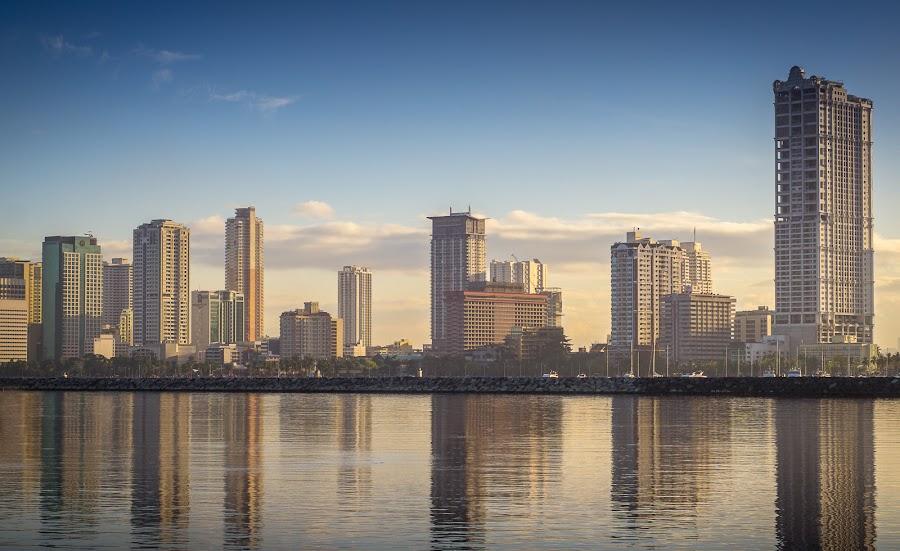 by Franciz Cayetano - City,  Street & Park  Skylines