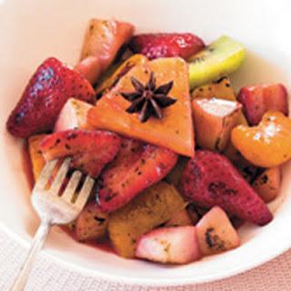 Stir-fry Fruit Salad.