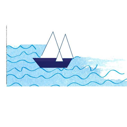 Détail bateau - Illustre Albert - profiter des beaux jours - Affiche personnalisée - cadeau de naissance