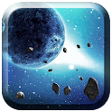 3D Meteors Live Wallpaper icon