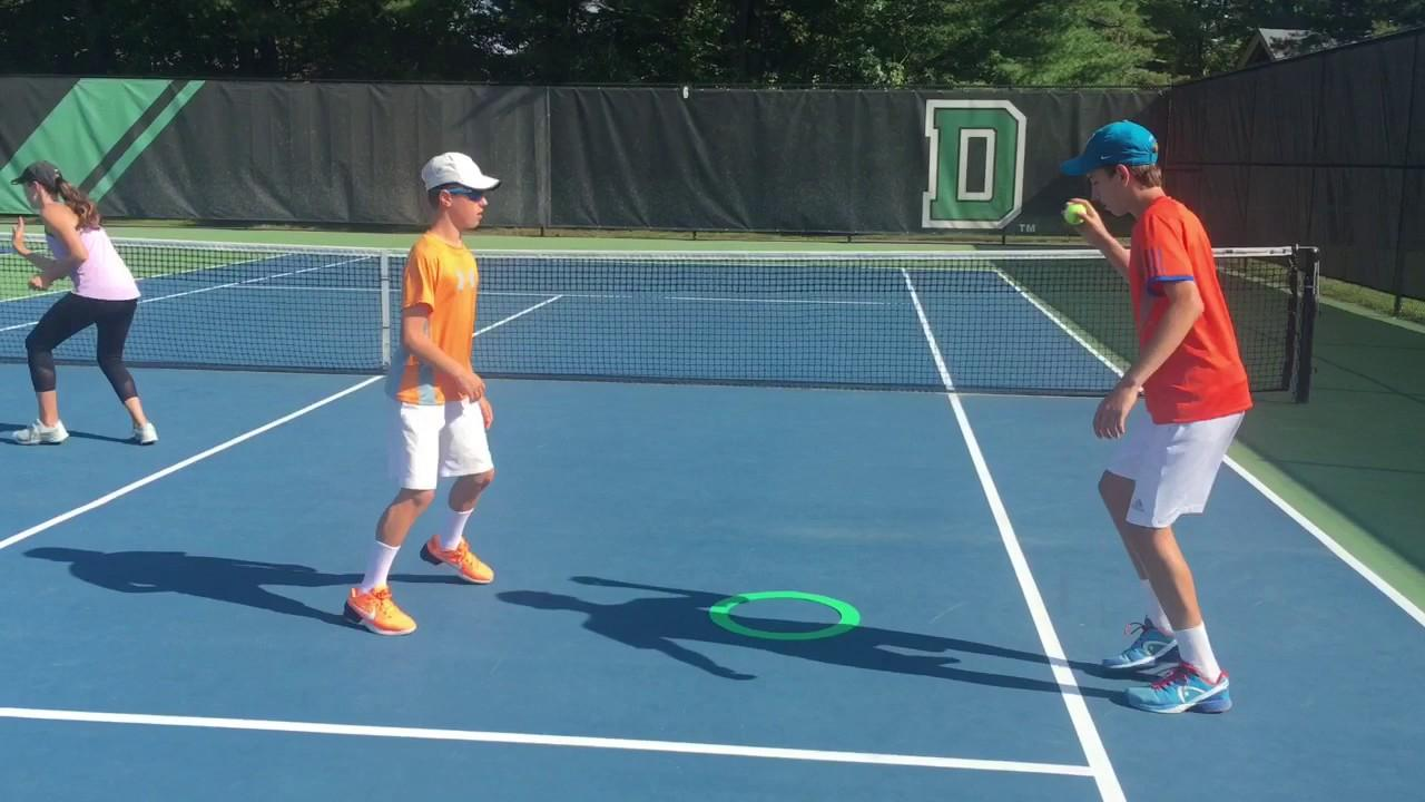 TENNIS WARM UP DRILLS THAT ARE FUN - YouTube