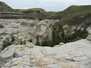 Photo: Coulee up canyon
