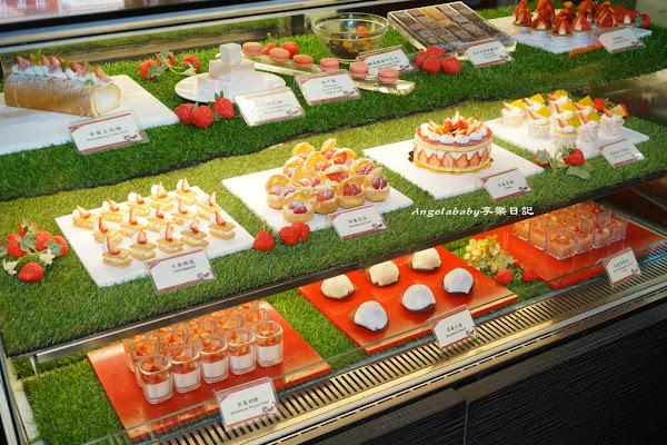 草莓甜點吃到飽 Checkers 台北凱撒大飯店 超值72折優惠 台北車站必吃美食 飯店吃到飽推薦