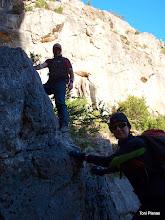 Photo: Cal grimpar en alguns punts