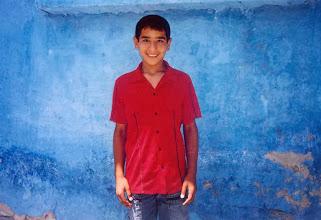 Photo: Boy from Diyarbakir, North Kurdistan (Turkey), 2003