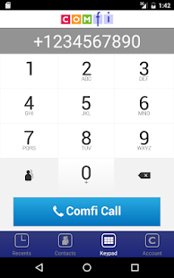 Comfi Free International Call- screenshot thumbnail
