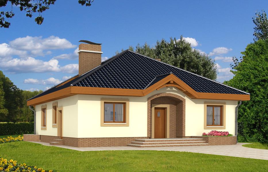 Projekt Domu Groszek Bez Garażu Teq 511 1090m²