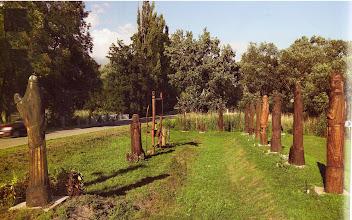 Photo: Csicsó, Hét vezér szoborpark További képek és leírások: http://csicso-nagy.uw.hu/fo-o-Csicso-NAGY-A/o3-szobrok.htm