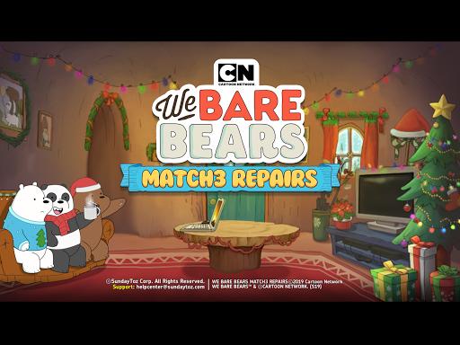 We Bare Bears Match3 Repairs apkpoly screenshots 6