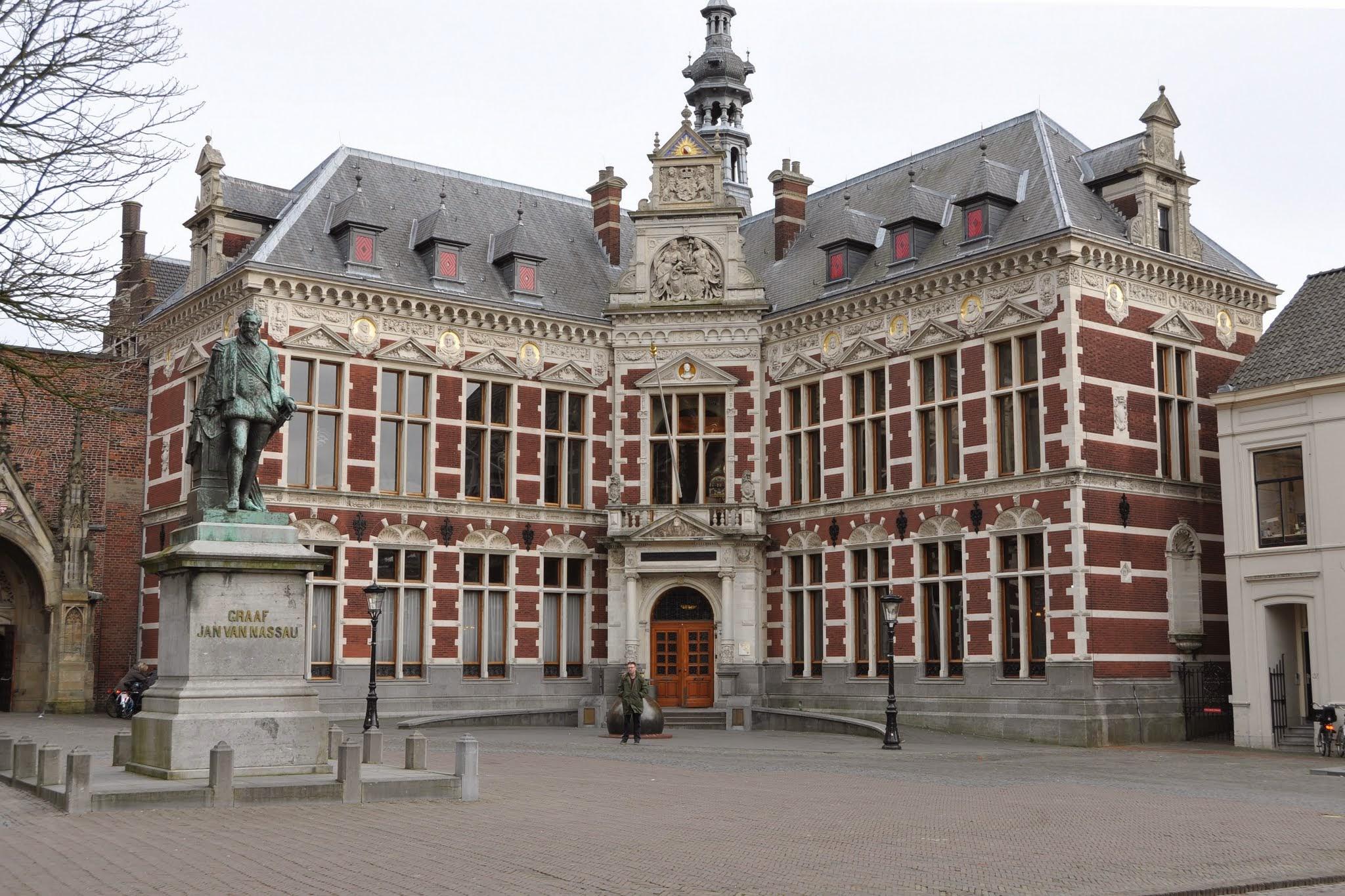 Photo: Promotie Bas van den Berg, Utrecht, Academiegebouw (foto's: Henri Veldhuis)
