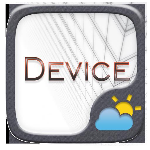 Device GO Weather Widget Theme
