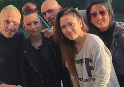 Radja Nainggolan neemt emotioneel afscheid van 25-jarig nichtje
