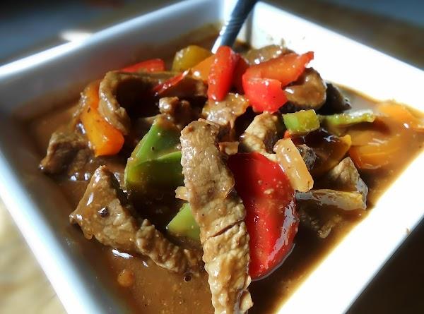 Pepper Steak Soup Recipe