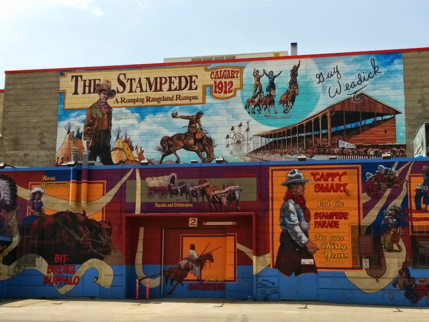 Who hasn't heard of the Calgary Stampede?