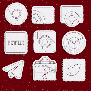 Snowy - Icon Pack screenshot 0