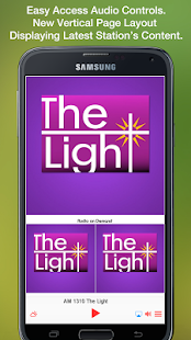 AM 1310 The Light- screenshot thumbnail