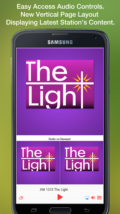 AM 1310 The Light- screenshot
