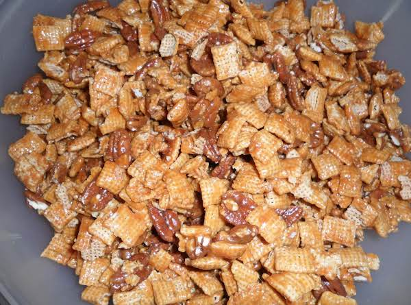 Caramel Rice Chex Mix Recipe