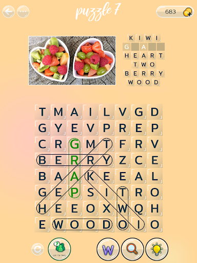Word Search Puzzles with Pictures free 0.3.1 screenshots 12