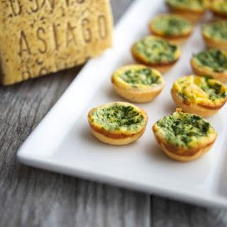 Spinach & Asiago Mini Quiche