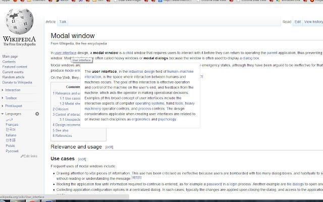 WikiPopups