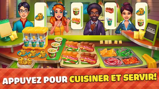 Télécharger Cook It! City de Filles Jeux de Cuisine en Folie APK MOD (Astuce) screenshots 1