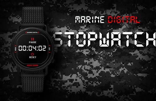 Marine Digital 2 Watch Face & Clock Live Wallpaper 1.07 screenshots 7