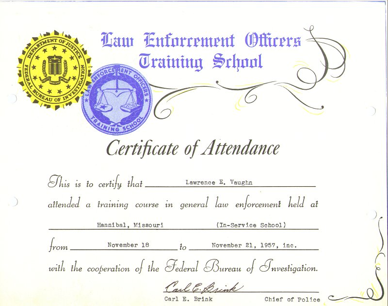 Completion Law Enforcement  Service 21 Nov 1956.jpg
