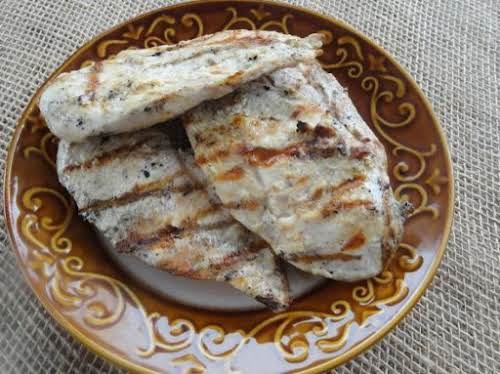 "Grilled Florida-style Chicken ""The vinegar and seasonings combine to make one flavor..."