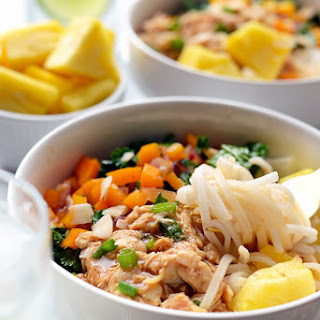 Hawaiian Chicken Noodle Bowls
