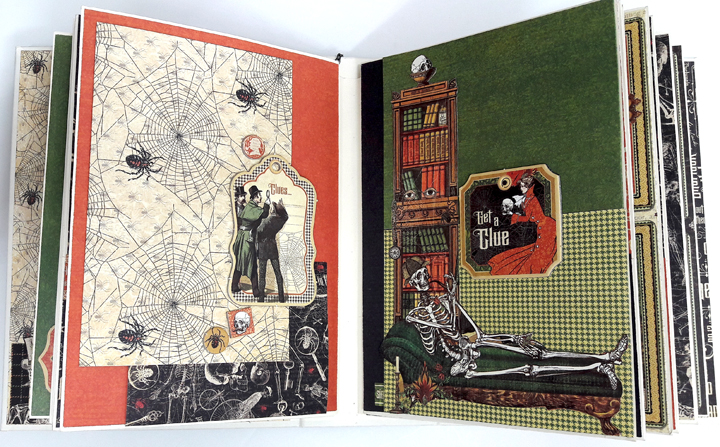 Master Detective Mini Album, by Einat Kessler, product by Graphic 45, photo10.jpg