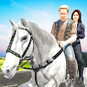 Offroad Horse Taxi Driver – Passenger Transport icon