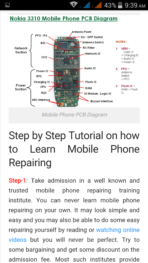 Mobile Phone Repairing- screenshot