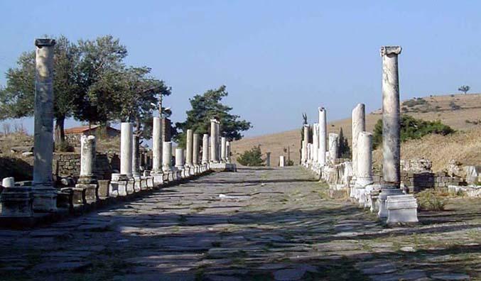 Asklepius Corridor near Pegamum