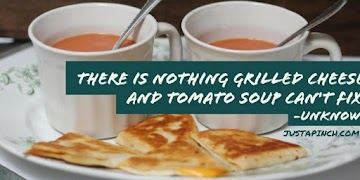 There Is Nothing Grilled Cheese And Tomato Soup Can't Fix. Recipe