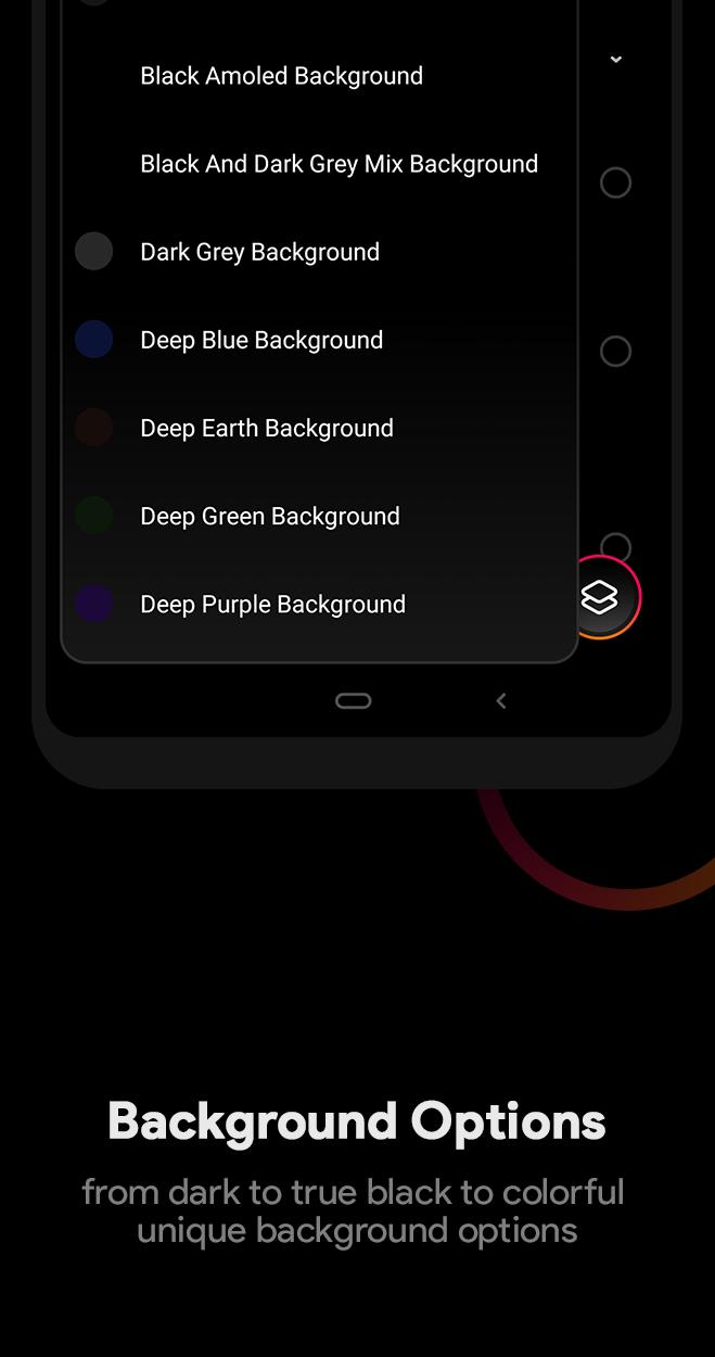 Liv Dark - Substratum Theme Screenshot 8