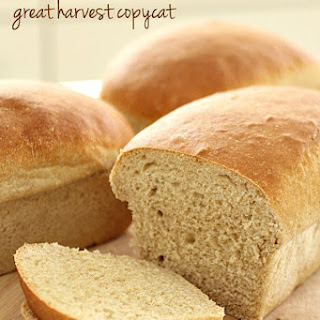 Great Harvest Honey Whole Wheat Bread Copycat.