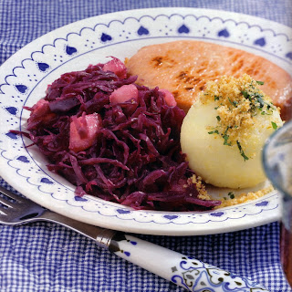 German Red Cabbage with Pears