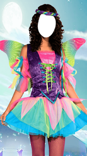 Girl Fairy Costumes Photo Montage - náhled