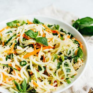 Spiralized Vietnamese Chicken Salad Recipe