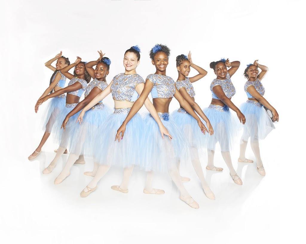 Triple 7 Black Ballerinas