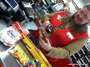 Photo: My checker was smiling, helpful and happy to see me! I was very excited about my purchases!